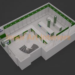 MAHMOOD PHARMACY (CHUBURGI) 3D VIEWS (2)