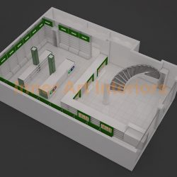 MAHMOOD PHARMACY (CHUBURGI) 3D VIEWS (3)
